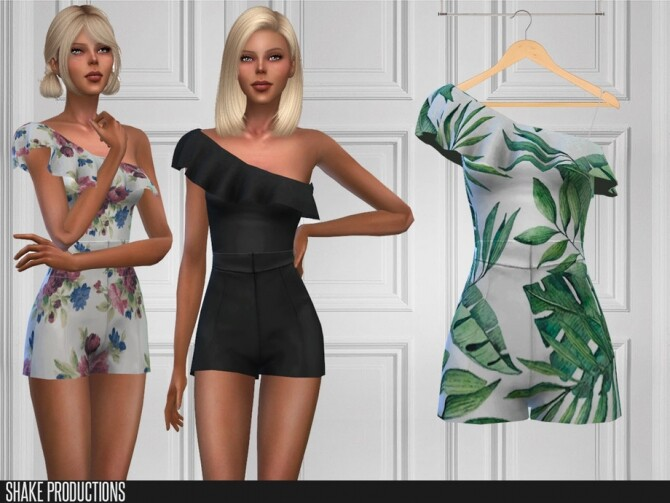 Sims 4 479 Jumpsuit by ShakeProductions at TSR