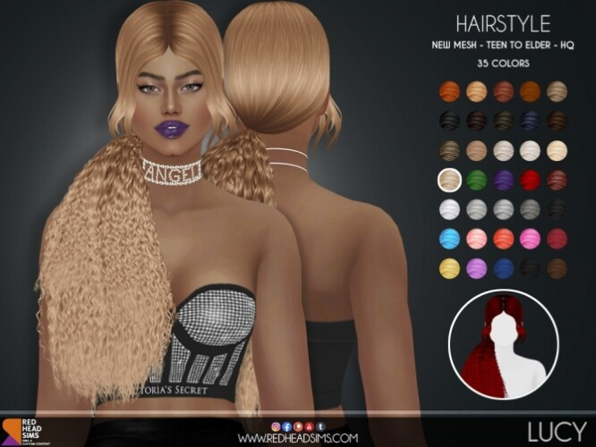LUCY HAIR by Thiago Mitchell