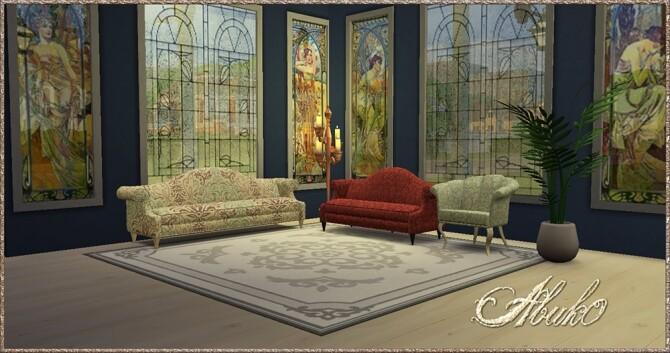 Sims 4 Gradina Living at Abuk0 Sims4