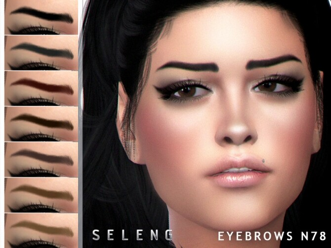 Eyebrows N78 by Seleng at TSR image 11815 670x503 Sims 4 Updates