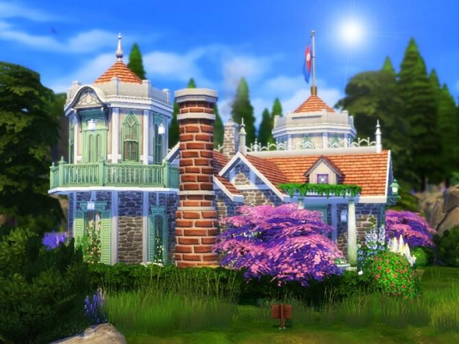 Sims 4 Madeleine house by dasie2 at TSR