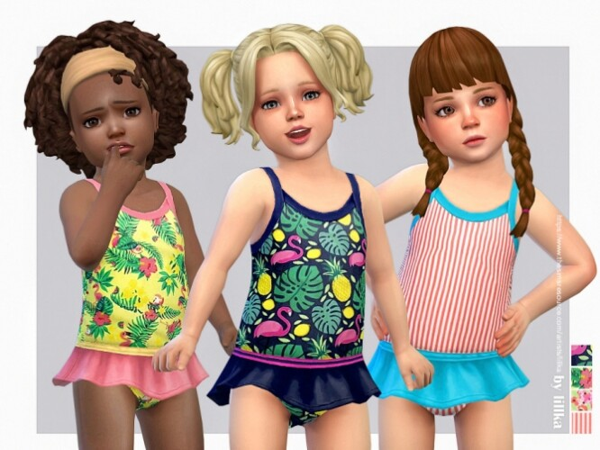 Toddler Swimsuit P10 by lillka