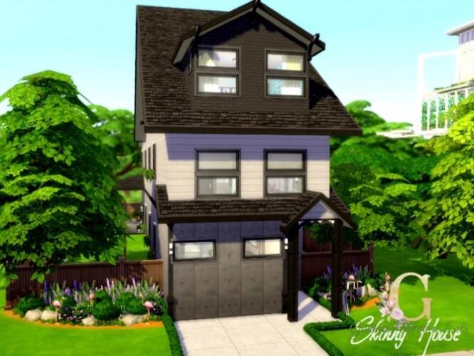 Skinny House by GenkaiHaretsu