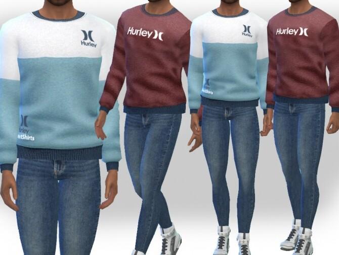 Men SweatShirts by Saliwa at TSR image 122 670x503 Sims 4 Updates