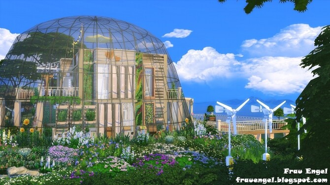 Glass Dome Eco House