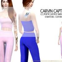 Poetic Justice Sweatpants by carvin captoor