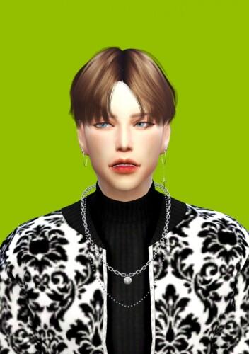 Male Necklace 7 8 Earrings 2