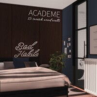 Academe Wooden Walls by networksims