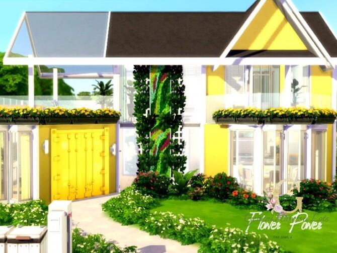 Flower Power Home by GenkaiHaretsu at TSR image 1235 670x503 Sims 4 Updates