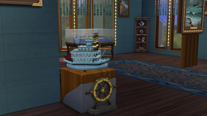 Sims 4 History of the old skipper Museum by fatalist at ihelensims