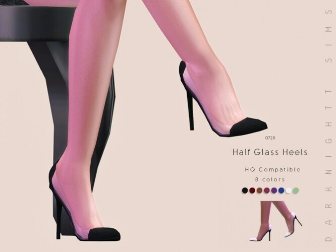 Half Glass Heels by DarkNighTt
