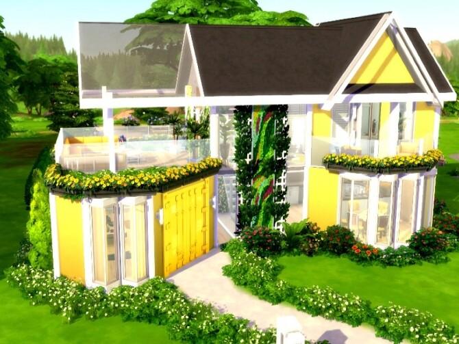 Flower Power Home by GenkaiHaretsu at TSR image 1244 670x503 Sims 4 Updates