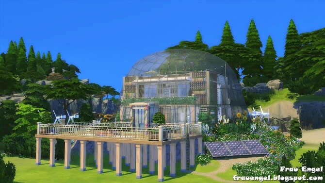 Glass Dome Eco House at Frau Engel image 1246 670x377 Sims 4 Updates