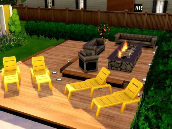 Sims 4 Flower Power Home by GenkaiHaretsu at TSR