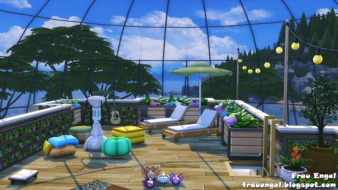 Glass Dome Eco House at Frau Engel image 1257 670x377 Sims 4 Updates
