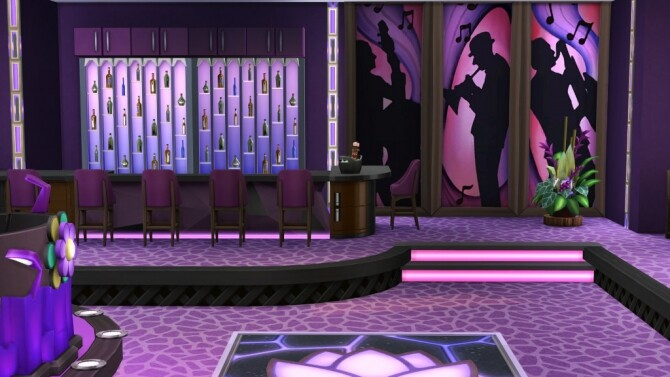 Sims 4 Nightclub Viola by fatalist at ihelensims