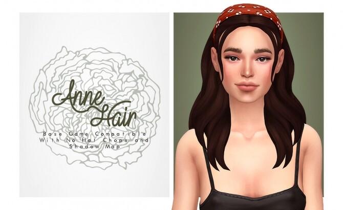 Anne hair with headband