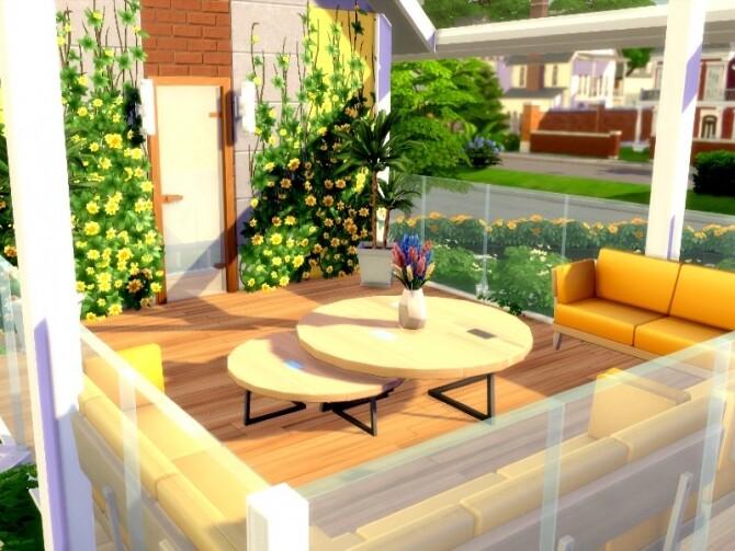 Flower Power Home by GenkaiHaretsu at TSR image 1265 670x503 Sims 4 Updates