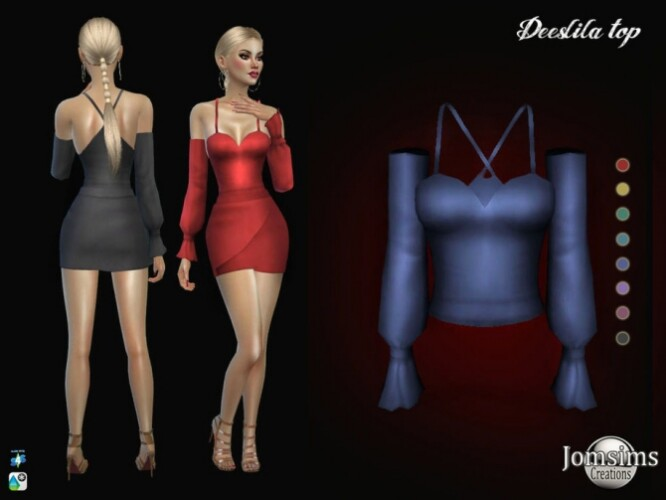 Deeslila top by jomsims