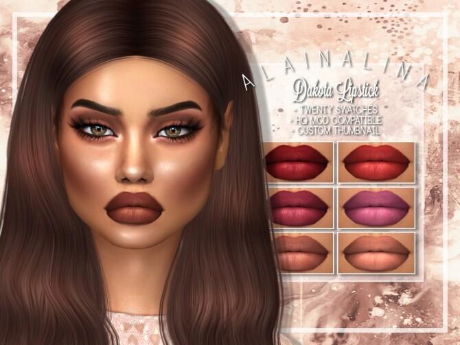 Dakota Lipstick at AlainaLina image 12714 670x503 Sims 4 Updates