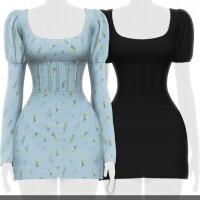 LORENZA DRESS 2 VERSIONS