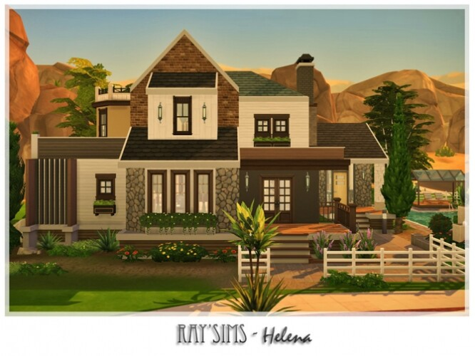 Helena house by Ray_Sims
