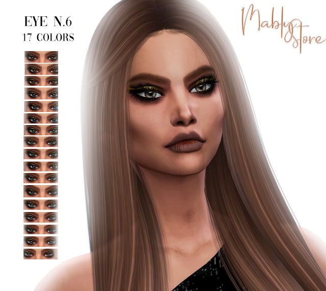 Sims 4 Eyes n.6 at Mably Store