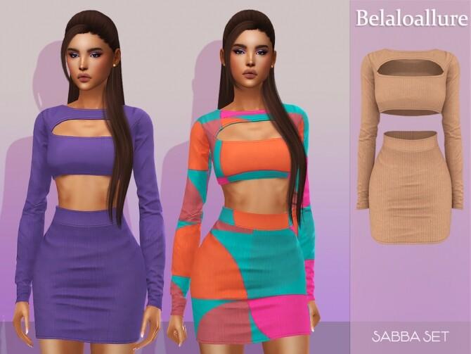 Sims 4 Belaloallure Sabba set by belal1997 at TSR
