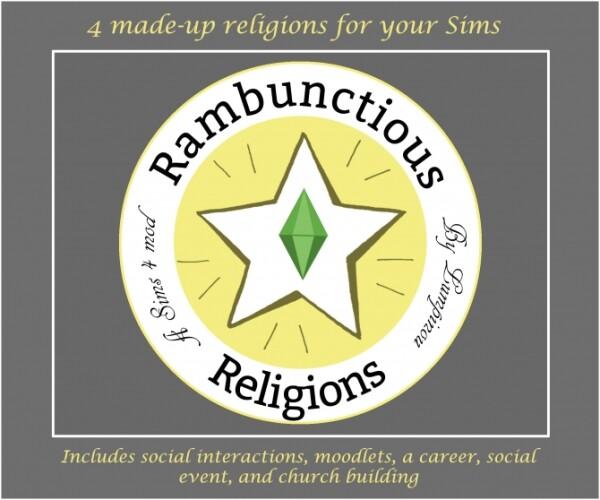 Rambunctious Religions MOD by Lumpinou