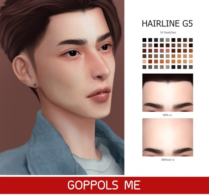 GPME GOLD Hairline G5 at GOPPOLS Me image 1302 670x631 Sims 4 Updates