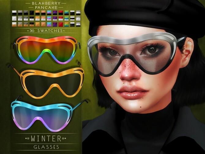 Winter glasses at Blahberry Pancake image 1307 670x503 Sims 4 Updates