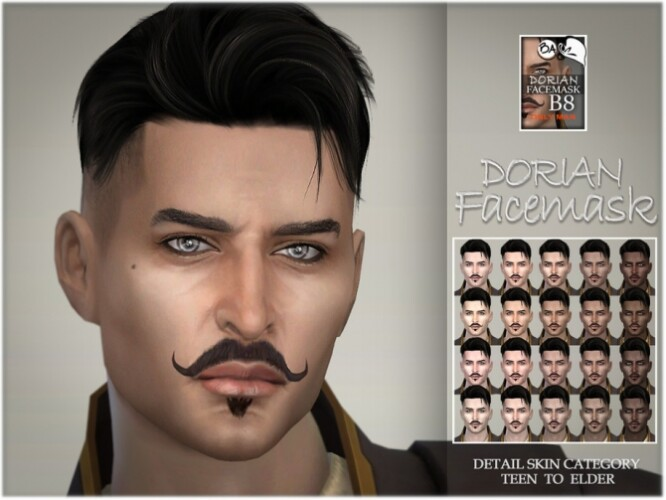 Dorian facemask by BAkalia