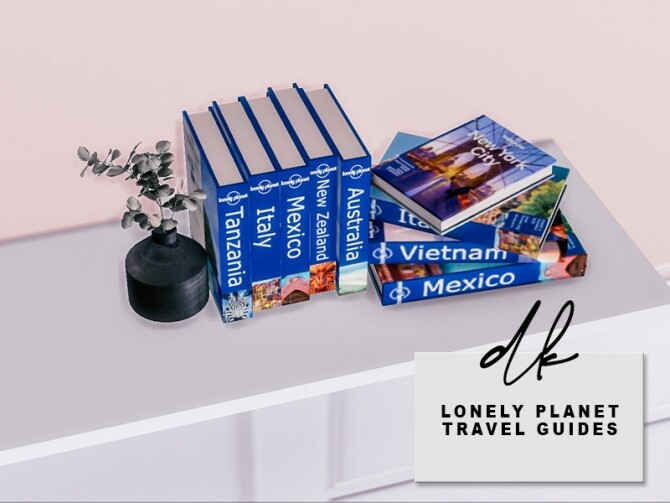 Sims 4 Lonely Planet Travel Guides at DK SIMS