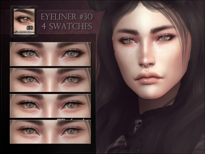 Eyeliner 30 Lashes by RemusSirion