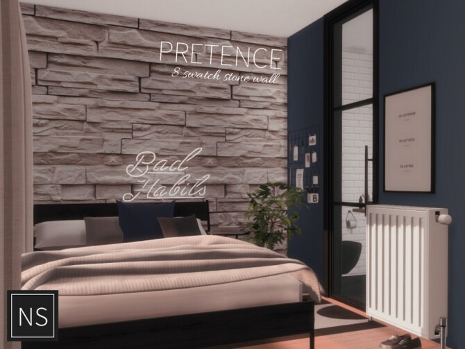 Pretence Stone Walls by networksims at TSR image 1316 670x503 Sims 4 Updates