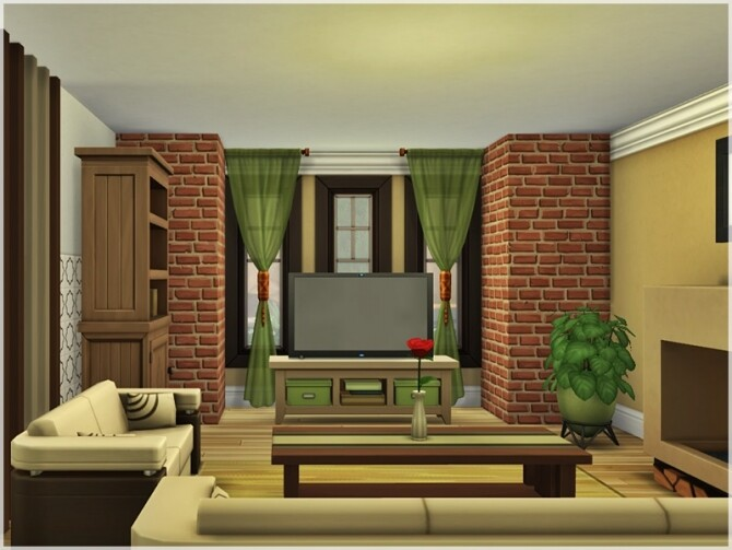 Sims 4 Helena house by Ray Sims at TSR