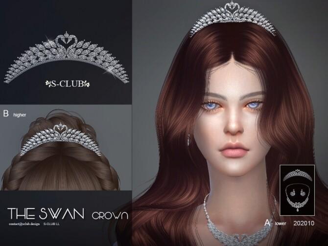 Sims 4 Hair Accessories 202010 by S Club LL at TSR