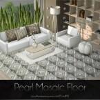 Pearl Mosaic Floor by Caroll91