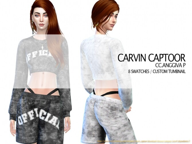 Anggiva Pants by carvin captoor at TSR image 13311 670x503 Sims 4 Updates