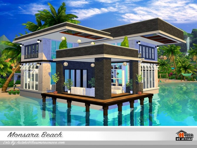 Sims 4 Monsara Beach by autaki at TSR