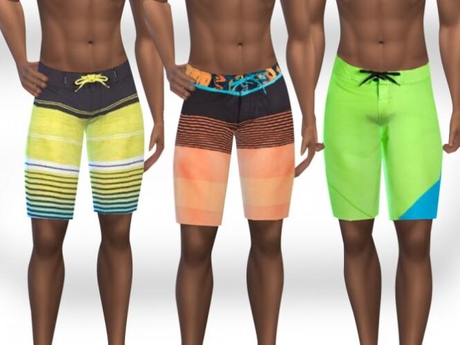 Men Swimming Fun Shorts by Saliwa