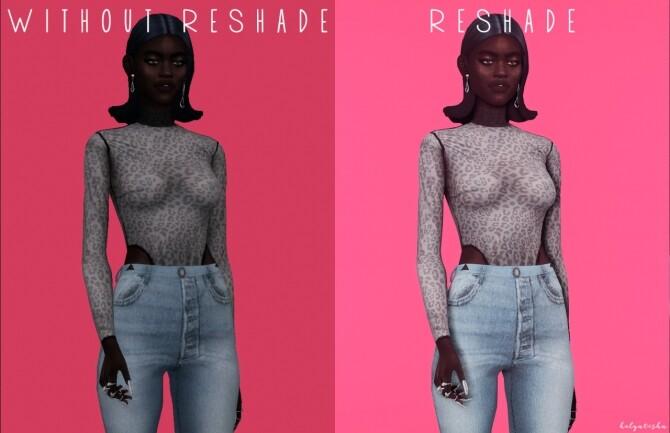 Reshade preset eyes at Helga Tisha image 1356 670x433 Sims 4 Updates