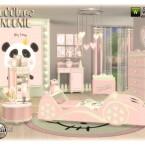 Noonie Toddlers bedroom by jomsims