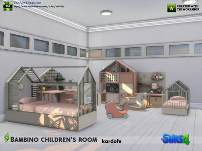 Bambino kids room by kardofe