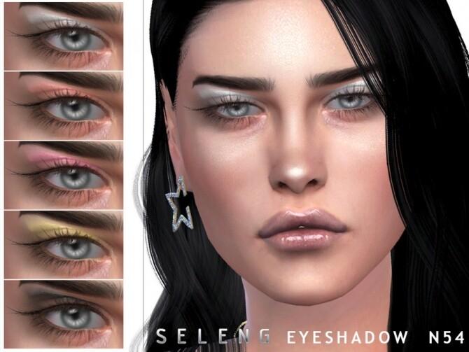 Sims 4 Eyeshadow N54 by Seleng at TSR