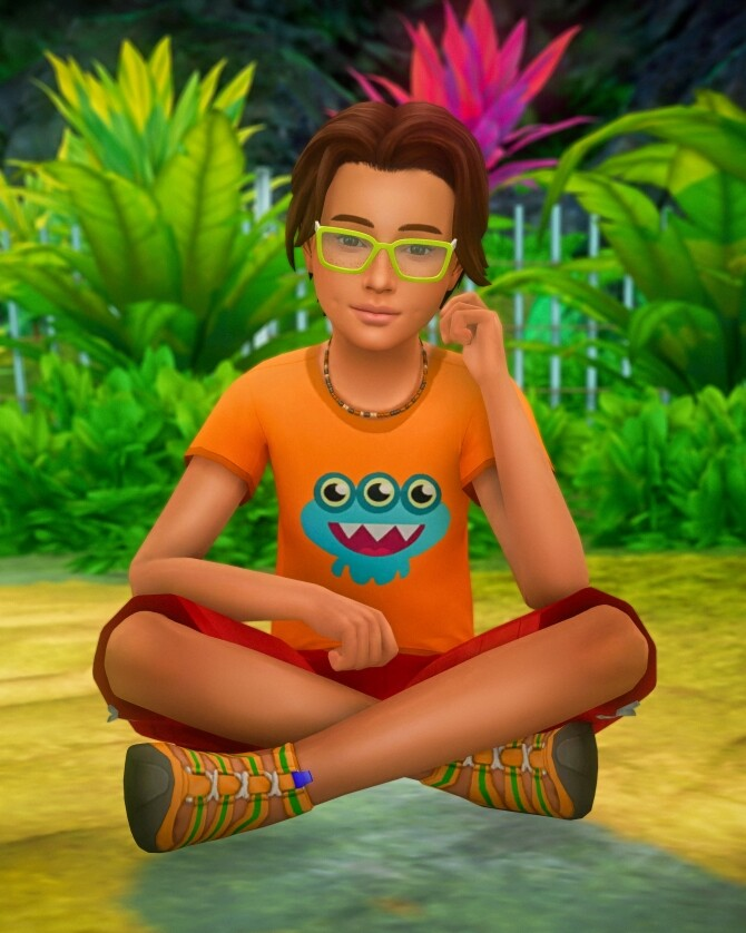 Sitting on the Ground Poses for Children at Katverse image 13913 670x838 Sims 4 Updates
