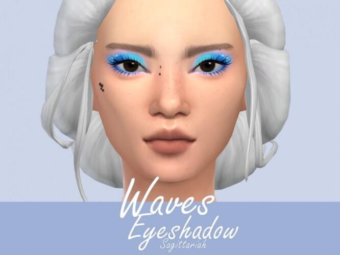 Waves Eyeshadow by Sagittariah
