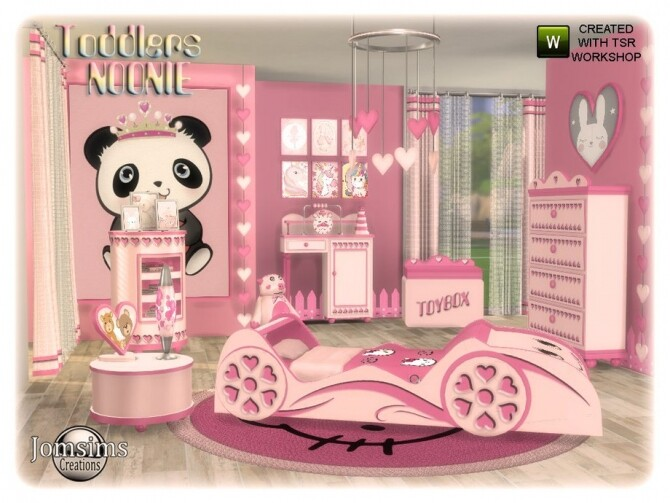 Sims 4 Noonie Toddlers bedroom by jomsims at TSR