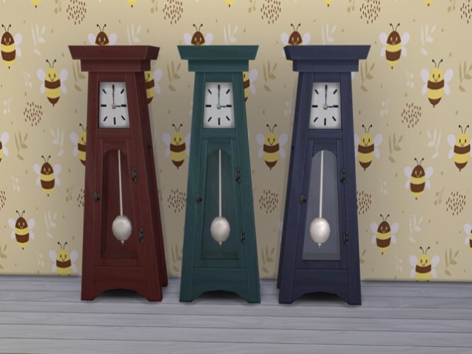Grandfather Clock by Ashuria