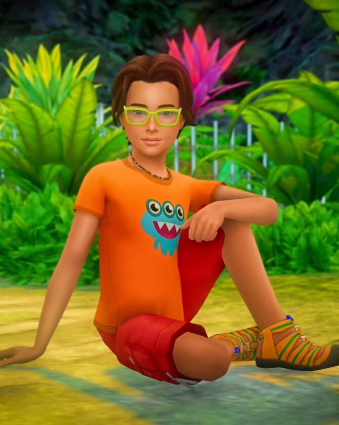 Sitting on the Ground Poses for Children at Katverse image 14118 670x838 Sims 4 Updates
